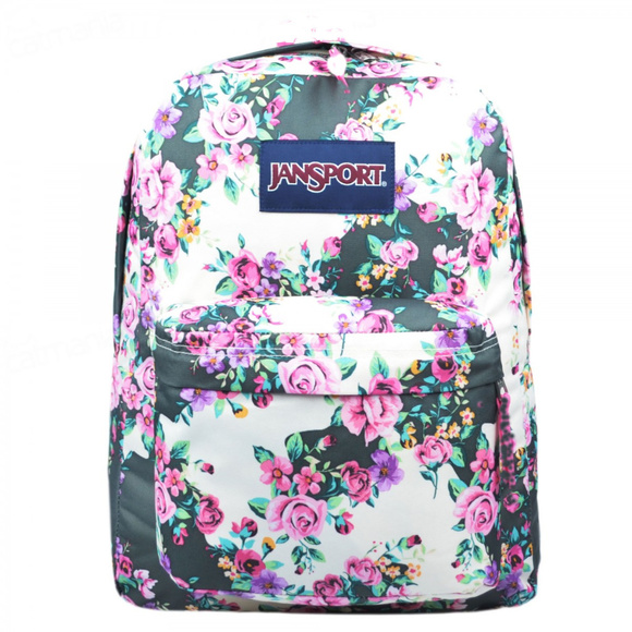 df762c9f3 Jansport Bags | New Superbreak Floral Flower Backpack | Poshmark